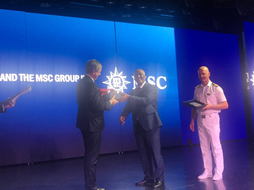 UNITED SHIPPING AGENCY FACILITATES MSC BELLISSIMA MAIDEN CALL AT DOHA PORT